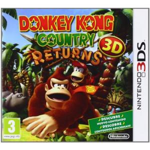 Juego Nintendo 3DS Donkey Kong Country returns