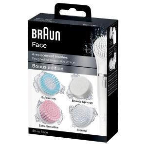 Kit de 4 cepillos de recambio 80-M para Braun Face
