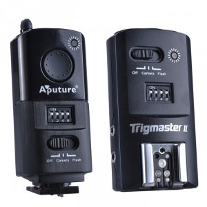 Disparador de flash Aputure Trigmaster 2.4G MX1C para Canon
