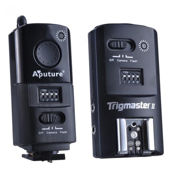 Disparador de flash Aputure Trigmaster 2.4G MX1C para Canon
