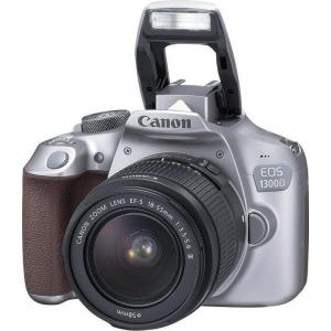 Cámara Réflex Canon EOS 1300D + 18-55mm DC III Gris
