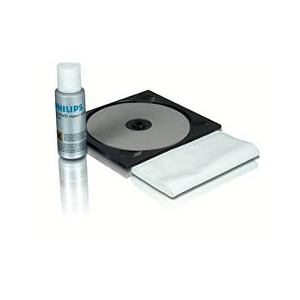 Kit limpiador de cd/dvd philips SAC2530