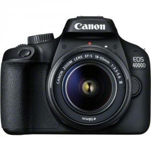 Cámara Réflex Canon EOS 4000D + 18-55mm III