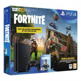 Consola PlayStation 4 500GB + Voucher Fortnite