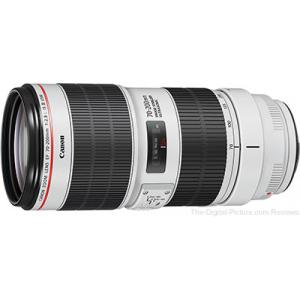 Objetivo Canon EF 70-200mm f/2.8L IS III USM