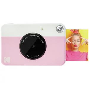 Cámara instantánea Kodak Printomatic Rosa