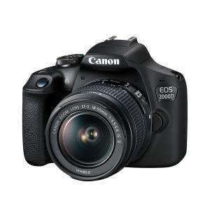Cámara Réflex Canon EOS 2000D + 18-55mm IS II