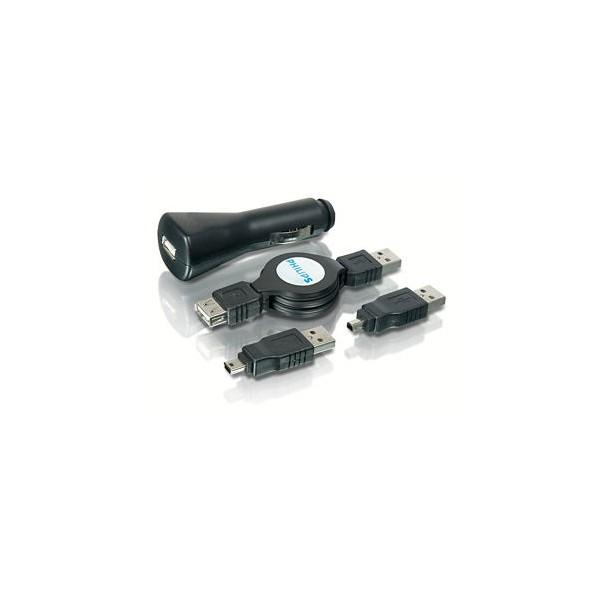 Kit de cargadores USB y auto Philips