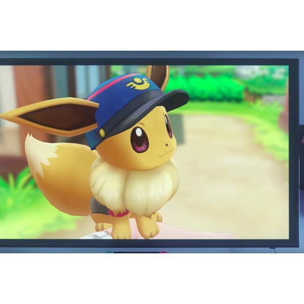 Juego Para Nintendo Switch Pokemon Let S Go Eevee