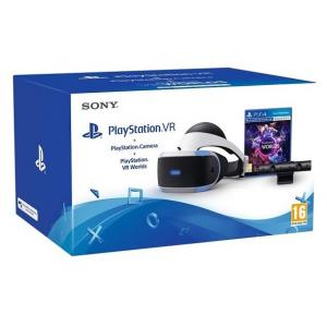 Pack de gafas de Realidad Virtual PlayStation VR + Cámara V2 + Juego VR Worlds PS4