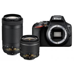 Kit Nikon D3500 + AF-P 18-55mm VR + AF-P 70-300mm VR