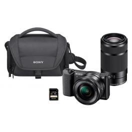 Sony Alpha ILCE 5100 + 16-50mm + 55-210mm + Bolsa + Tarjeta SD 16Gb