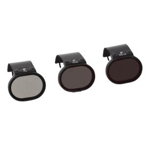 Pack 3 Filtros estandar PolarPro DJI Spark Edition Polarizador, ND8, ND16