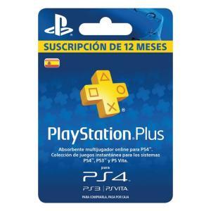 Tarjeta PlayStation Plus Suscripción 12 Meses