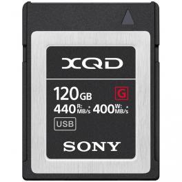 Tarjeta Sony QD-G120F Serie G XQD 120GB 440MB/s