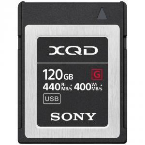 Tarjeta Profesional Sony QD-G120F Serie G XQD 2.0 120GB 440MB/s