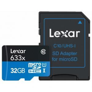 Tarjeta de Memoria Lexar High-Performance microSDHC/microSDXC 633x UHS-I 32Gb