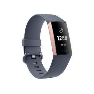 Pulsera de actividad Fitbit Charge 3 FB409 Gris Azulado / Aluminio Color Oro Rosa