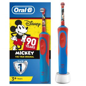 Cepillo dental eléctrico para niños Braun Oral- B D12 Vitality Mickey 90 aniversario