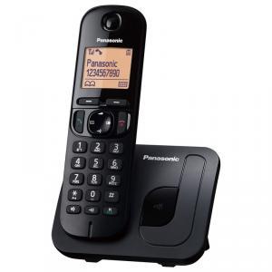 Teléfono inalámbrico digital Panasonic KX-TGC210 Negro