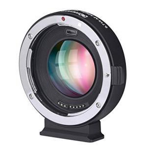 Convertidor de monturas electrónico Commlite para Lentes EF/EF-S a cámara M4/3 CM-AEF-MFT Booster