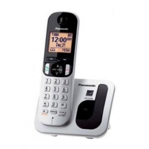 Teléfono inalámbrico digital Panasonic KX-TGC210 Gris