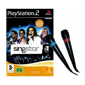 Juego para PlayStation 2 SingStar OT + Micrófonos