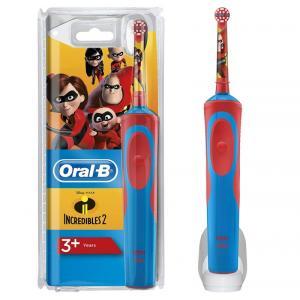 Cepillo dental eléctrico para niños Braun Oral- B D12 Vitality Los Increibles