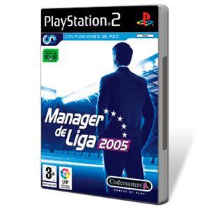 Juego para PlayStation 2 Manager de Liga 2005