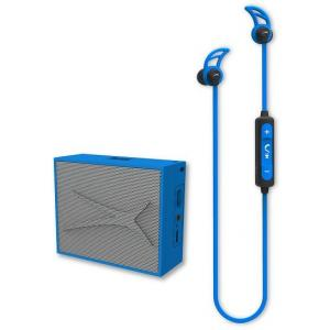 Pack Altec Lansing Auricular Snake + altavoz Pocket Azul
