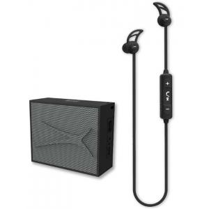 Pack Altec Lansing Auricular Snake + altavoz Pocket Negro