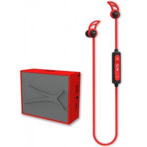 Pack Altec Lansing Auricular Snake + altavoz Pocket Rojo