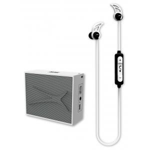 Pack Altec Lansing Auricular Snake + altavoz Pocket Blanco