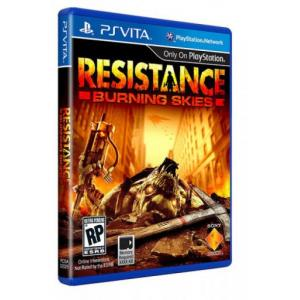 Juego para PS Vita Resistance Burning skies