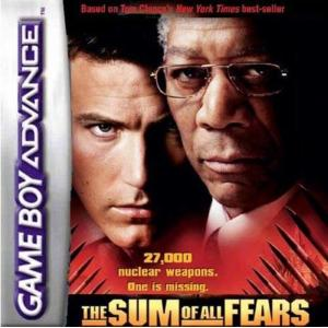 Juego para Game Boy Advance The Sum of all Fears