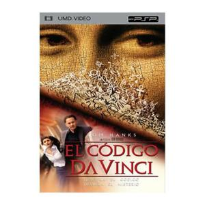 Película para PSP El código Da Vinci