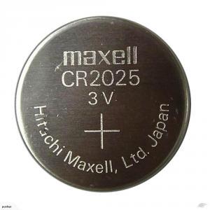 Pila de botón Maxell CR2025