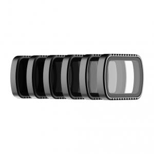 Pack 6 Filtros Standard Series para DJI Osmo Pocket PL, ND4, ND8, ND16, ND32, ND64