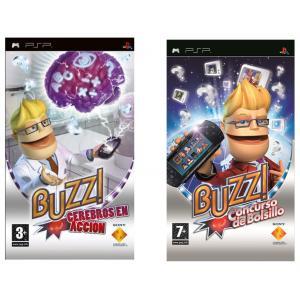 Pack de Juegos para PSP Buzz Cerebros en Acción + Concurso de bolsillo