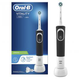 Cepillo dental Braun Vitality Crossaction Negro