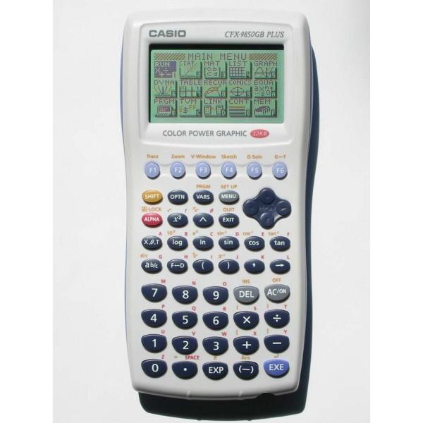 Calculadora Casio FX-9850GC PLUS