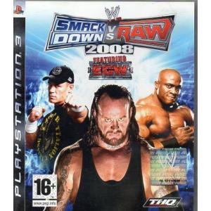 Juego para PlayStation 3 Smack Down vs Raw 2008