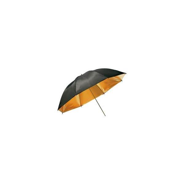 Paraguas negro y dorado Metz 84cm