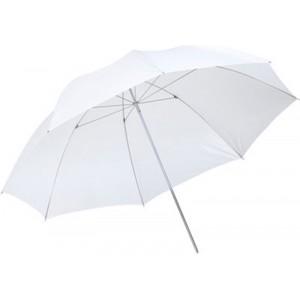 Paraguas blanco traslúcido Metz 84 cm