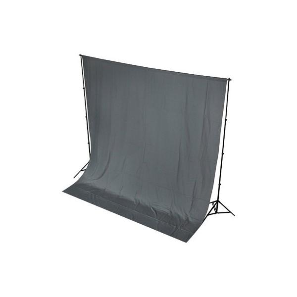 Fondo de tela para kit de estudio gris