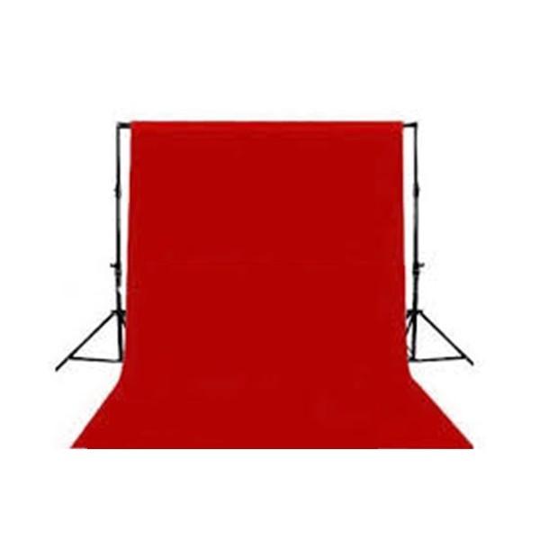Fondo de tela para kit de estudio rojo