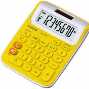 Calculadora Casio Amarillo