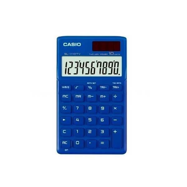 Calculadora Casio SL1110TV Azul