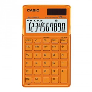 Calculadora Casio SL1110TV Naranja