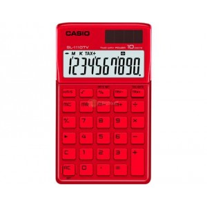 Calculadora Casio SL1110TV Roja